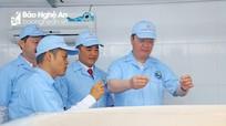 Chủ tịch UBND tỉnh thăm các mô hình phát triển kinh tế tại Quỳnh Lưu
