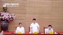 Chủ tịch UBND tỉnh: Thực hiện 'nhiệm vụ kép', vừa phòng, chống dịch, vừa phát triển kinh tế - xã hội