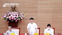 Đề cao trách nhiệm, xây dựng Quy hoạch tỉnh Nghệ An đảm bảo tiến độ, chất lượng