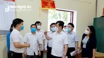 Chủ tịch UBND tỉnh kiểm tra công tác chuẩn bị bầu cử tại huyện Nam Đàn  