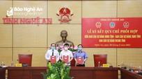Ký kết Quy chế phối hợp giải quyết các vụ án hành chính, dân sự, khiếu nại, tố cáo