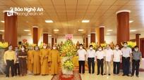 Chủ tịch UBND tỉnh chúc mừng Ban trị sự Giáo hội Phật giáo Nghệ An nhân Đại lễ Phật đản
