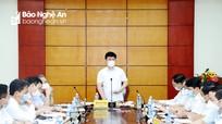 Chủ tịch UBND tỉnh Nguyễn Đức Trung: Cần tư duy đột phá, quy hoạch xây dựng theo hướng hiện đại
