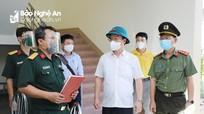Nghệ An thành lập Trung tâm Chỉ huy phòng, chống dịch Covid-19 tỉnh