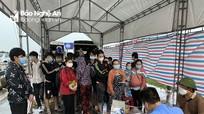 Nghệ An đón và hỗ trợ công dân trở về từ các tỉnh, thành phía Nam