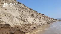 """Sông Lam """"nuốt"""" bãi bồi, dân mất hàng chục ha đất sản xuất"""