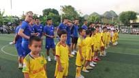 Phi Sơn, Hoàng Thịnh cùng dàn sao V-League về Nghệ An thi đấu từ thiện