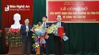 Công bố quyết định Phó Bí thư Thường trực và Phó Bí thư Huyện ủy Anh Sơn
