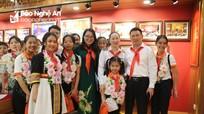 Đoàn đại biểu Cháu ngoan Bác Hồ tỉnh Nghệ An tham quan trung tâm làm việc Kiểm toán Nhà nước