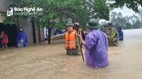 Tỉnh ủy Nghệ An ban hành Công điện khẩn ứng phó với thiên tai