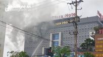 Cháy khách sạn Vinh Plaza