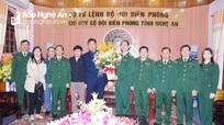Báo Nghệ An chúc mừng Bộ đội Biên phòng tỉnh nhân ngày thành lập Quân đội nhân dân Việt Nam