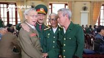 Cựu đồng đội Trung đoàn Quân tình nguyện Việt Nam tại Lào gặp mặt truyền thống