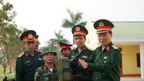 Lãnh đạo Bộ Quốc phòng kiểm tra thiết bị kỹ thuật tại Bộ Chỉ huy quân sự tỉnh