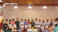 Tăng cường trao đổi thông tin giữa huyện biên giới Nghệ An với cụm bản của nước bạn Lào