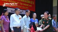 Trung đoàn Triệu Hải tri ân Mẹ Việt Nam Anh hùng, gia đình chính sách