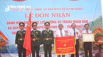 Xã Quỳnh Nghĩa (Quỳnh Lưu) đón nhận danh hiệu Anh hùng lực lượng vũ trang nhân dân