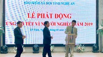 BHXH tỉnh ủng hộ Tết vì người nghèo năm 2019