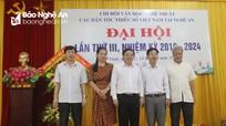 Ra mắt Ban chấp hành Chi hội văn học nghệ thuật các dân tộc thiểu số Việt Nam tại Nghệ An