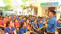 Nghệ An tổ chức trại huấn luyện kỹ năng công tác Đoàn - Đội