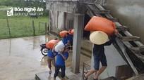 Nghệ An: Gần 5.000 đoàn viên ra quân giúp người dân khắc phục sau mưa lũ