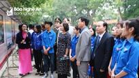 Tuổi trẻ Nghệ An thi đua lập thành tích kỷ niệm 50 năm thực hiện Di chúc của Bác
