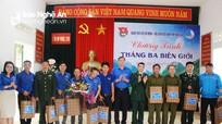 """Tuổi trẻ Nghệ An tổ chức chương trình """"Tháng 3 Biên giới"""""""