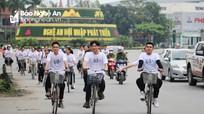 Nghệ An: Gần 1.000 thanh niên hưởng ứng Giờ Trái đất năm 2019