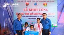 Hỗ trợ xây dựng 'Ngôi nhà khăn quàng đỏ' cho học sinh nghèo