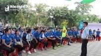 Tập huấn kỹ năng cho 250 cán bộ Đoàn - Đội