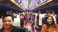 Chuyến xe miễn phí cho thanh niên công nhân Nghệ An về quê đón Tết