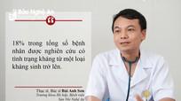 Nghệ An: Báo động tình trạng trẻ kháng thuốc do cha mẹ tự ý mua dùng
