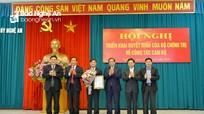 Trao Quyết định Bộ Chính trị chuẩn y đồng chí Thái Thanh Quý giữ chức Bí thư Tỉnh ủy Nghệ An
