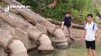 Thanh Chương đối mặt nguy cơ thiếu nước sản xuất