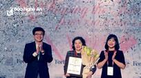 """Nữ Tổng Giám đốc Vinamilk được Forbes trao giải """"Thành tựu trọn đời"""""""