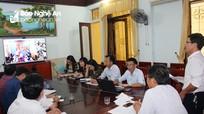 Ngành Giáo dục huyện Yên Thành  triển khai hiệu quả hệ thống họp trực tuyến