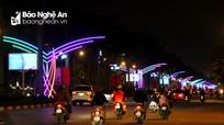 Thành phố Vinh chỉnh trang đô thị phục vụ nhân dân vui Tết