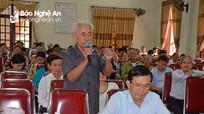 Cử tri Diễn Châu băn khoăn về đào tạo đại học tràn lan