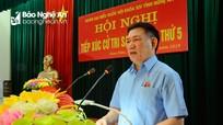 Tổng Kiểm toán Nhà nước giải đáp thắc mắc của cử tri huyện Nam Đàn