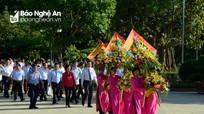 Lãnh đạo Trung ương dâng hoa tại Khu Di tích Kim Liên