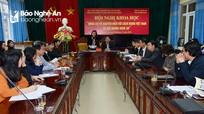 """Hội nghị khoa học """"Đồng chí Võ Nguyên Hiến với cách mạng Việt Nam và quê hương Nghệ An"""""""
