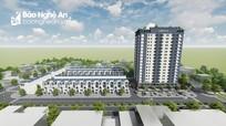 TP. Vinh có thêm một chung cư 18 tầng