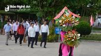 Lãnh đạo Thủ đô Hà Nội dâng hoa, dâng hương tại Khu Di tích Kim Liên