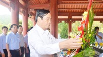 Ban Tổ chức Trung ương dâng hương tại Khu Di tích lịch sử Quốc gia Truông Bồn
