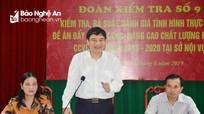 Bí thư Tỉnh ủy: Sở Nội vụ cần ban hành cơ chế để sát hạch cán bộ, công chức, viên chức