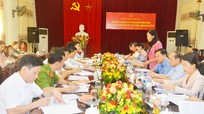 Đoàn công tác Quốc hội giám sát công tác phòng, chống xâm hại trẻ em tại thành phố Vinh