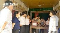 Nghệ An hoàn thành việc lấy ý kiến cử tri sắp xếp đơn vị hành chính cấp xã
