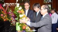 Các cơ quan, doanh nghiệp Nhật Bản dâng hương tưởng niệm Chủ tịch Hồ Chí Minh