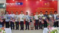 8 tỉnh của Việt Nam và Lào giao ban công tác phòng, chống ma túy tại Nghệ An