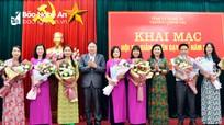 Khai mạc Hội thi giảng viên dạy giỏi Trường Chính trị tỉnh năm 2019